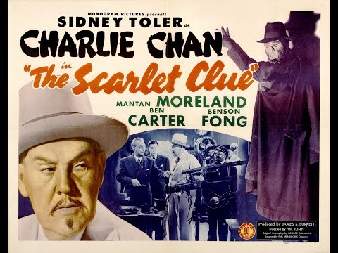 Charlie Chan in The Scarlet Clue [1945]  Phil Rosen