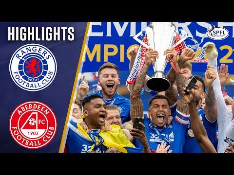 Rangers Aberdeen Goals And Highlights