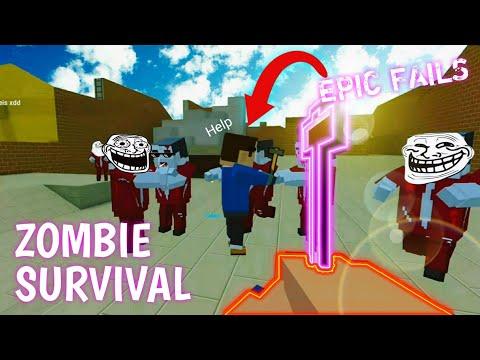 EPIC FAILS! | Saga De Zombies Con SUBS! #3 | Block Strike