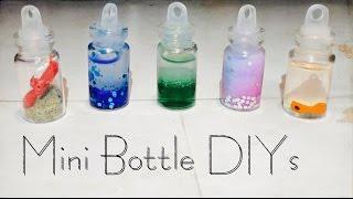5 Diy Mini Bottle Charm Ideas