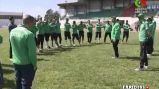 تحضيرات مولودية الجزائر لمباراة وفاق سطيف -نصف نهائي كأس الجمهورية