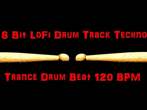 Techno Trance Drum Beat Track 120 BPM Backing Dance Track Loop Sample MP3