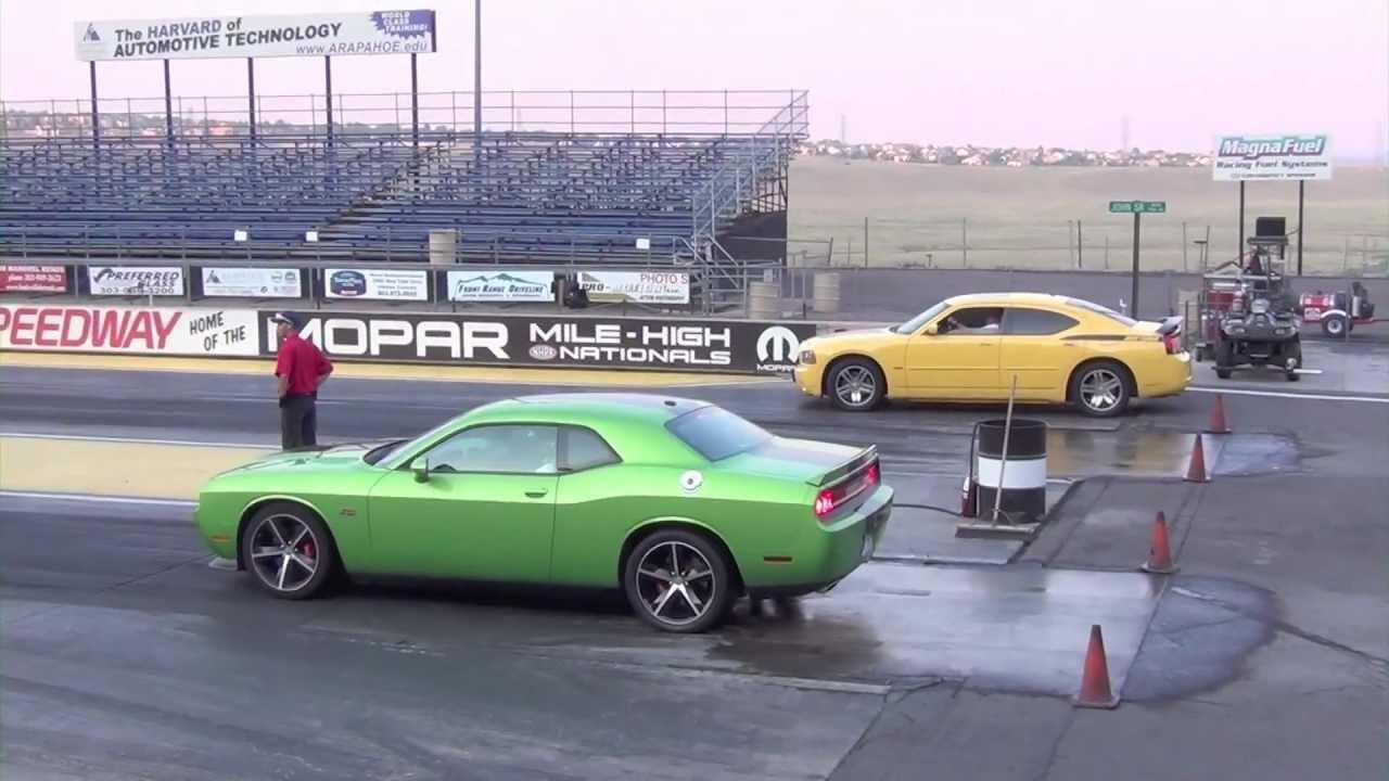 2012 Dodge Challenger Srt8 392 Vs 2006 Charger Daytona Rt