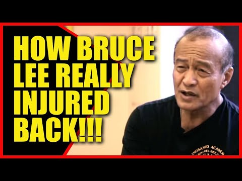 Dan Inosanto Bruce Lees Injury And His Writing