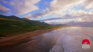 Drone footage of Kerry coastline