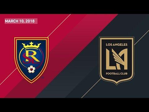 HIGHLIGHTS: Real Salt Lake vs. Los Angeles Football Club | March 10, 2018