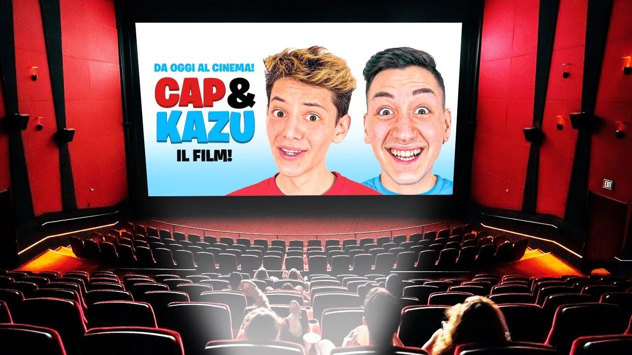 ABBIAMO FATTO IL PROVINO PER UN FILM!! 🎬 (Cap e Kazu)