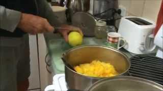 Making Pawpaw - Papaya, Ginger Jam.