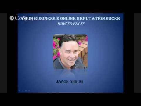 Your Business's Online Reputation Sucks - How To Fix It