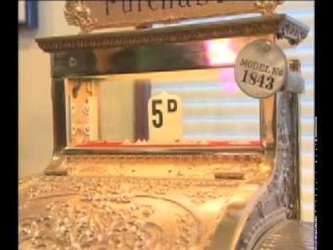 Antique Brass Cash Registers