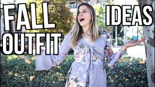 5 Fall Outfit Ideas 2017!