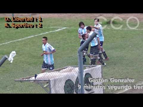 Dep. Libertad: 1 A. Sportivo : 2  Apertura 2017