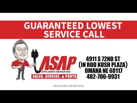 ASAP appliance repair commercial - Omaha Nebraska by Blue Print Advertising Agency