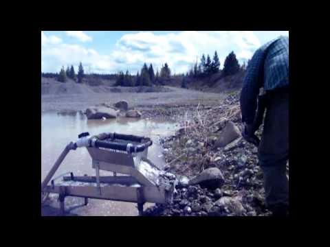 Gold Mining,Testing Miners Moss Versus Ribbed Matting