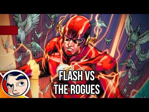The Flash vs The Rogues - Rebirth Complete Story