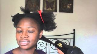 John Frieda Frizz-Ease Heat Defeat Protective Styling Spray  review on 4b/4c hair