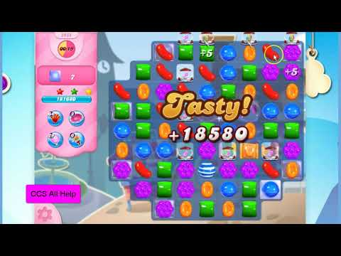Candy Crush Saga Level 2932 NO BOOSTERS Cookie