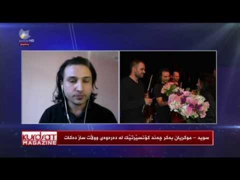 Hunermen Mukryan le Kurdsat TV 30.04.2015