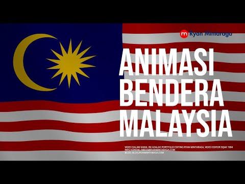 Animasi Bendera Malaysia (HD)