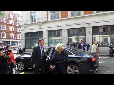 Camilla, Duchess of Cornwall GCVO, CSM, PC, in London 05 05 2017 (1)