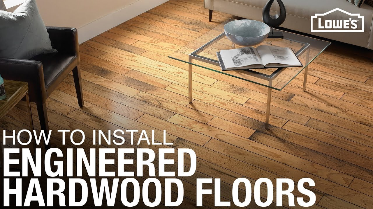 3 Methods For How To Install Engineered Hardwood Flooring Youtube