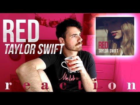 TAYLOR SWIFT - RED | ALBUM REACTION / REACCIÓN