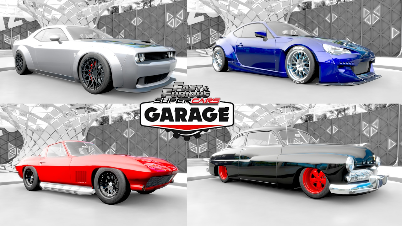 Fast Furious 8 Forza Horizon 3 Garage Youtube
