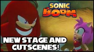 Sonic Boom (Wii U) - New Stage and Cutscenes! (TGS 2014)