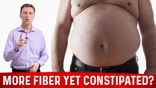 Pooping Less & Constipated Yet Eating More Fiber?