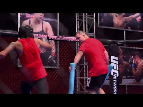 UFC 180: Cain Velasquez on Coaching The Ultimate Fighter Latin America