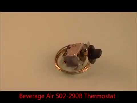 hqdefault beverage air 502 290b thermostat youtube beverage air mt45 wiring diagram at suagrazia.org