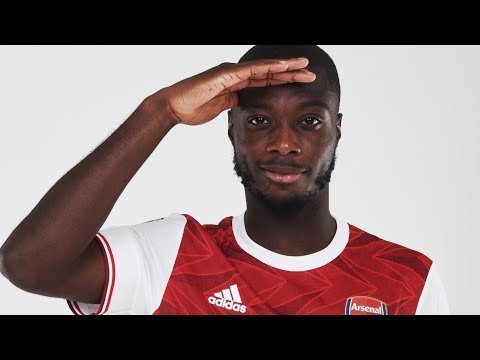 The best of Nicolas Pepe |  Every Goal and Assist |  2020/21 Highlights