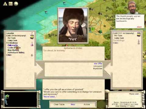 Let's Play - Civilization III - Ep. 1