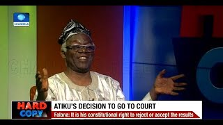 INEC Must Ensure Electoral Offenders Are Prosecuted, Says Falana Pt.2 |Hard Copy|