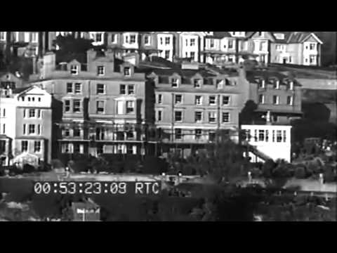 Royal Marines & Sailors Train US Army Amphibious Ops At Dartmouth Plymouth Fowey England 1944 (full)