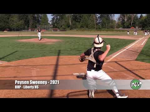 Peysen Sweeney - PEC - RHP - Liberty HS (WA) August 13, 2020