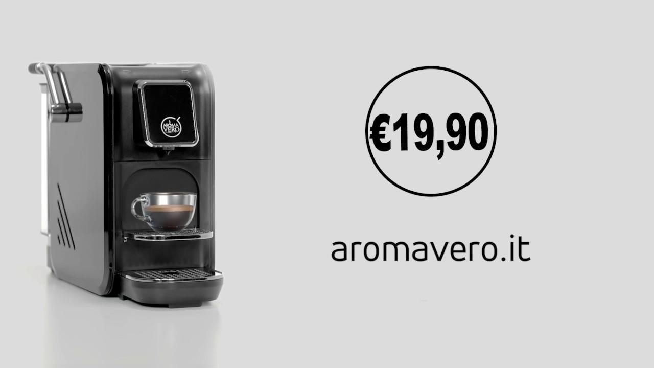 Aromavero It Macchina Caffè Capsule A Soli 19 90 Youtube