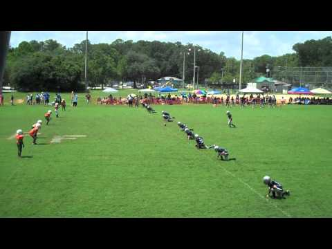 Pine Forest Rattlers Jr. Pee Wee 2012 Game 1
