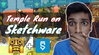 Temple run game in sketchware (2021)   Sketchware Games screenshot 4