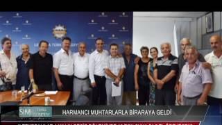 HARMANCI MUHTARLARLA BİRARAYA GELDİ
