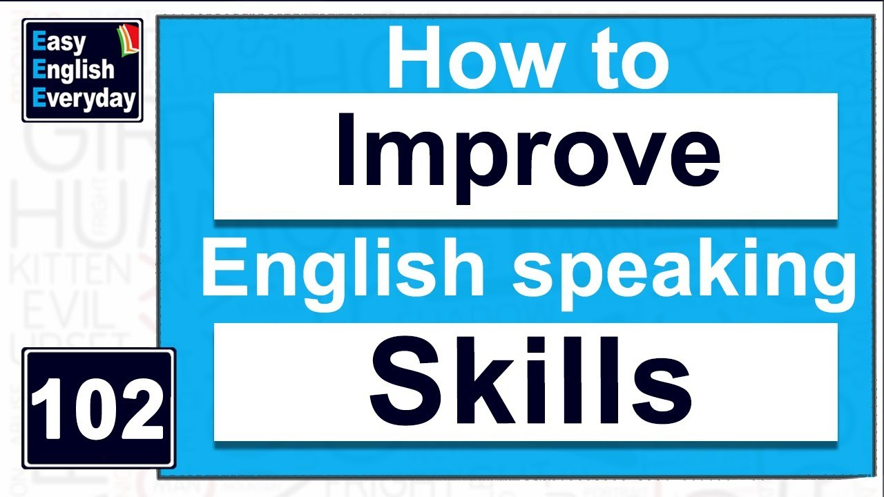 How To Improve English Speaking Skills At Home Free