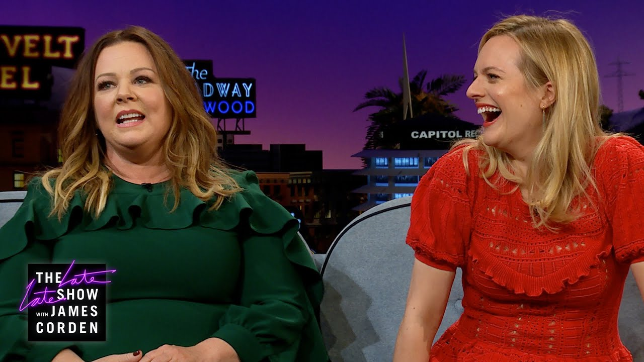 Download Melissa McCarthy Assumed Elisabeth Moss Was a Little Scary