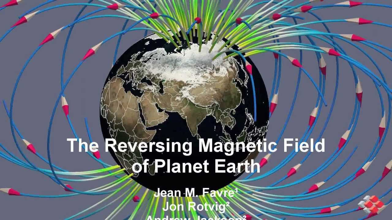 The Reversing Magnetic Field of Planet Earth