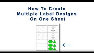 كيفية إنشاء تصاميم متعددة على ورقة واحدة في المايسترو تسمية مصمم