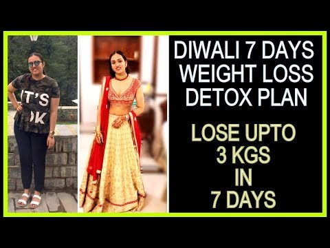 How to Lose Weight Fast 3 Kgs in 7 Days | Full Day Detox & Eggs Diet Plan For Weight Loss