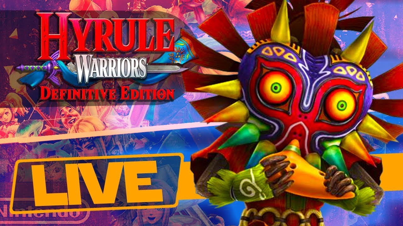 Unlock A Fairy And Skull Kid Hyrule Warriors Definitive Edition Switch Youtube