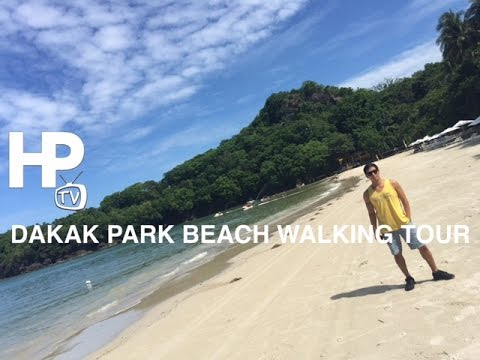 Dakak Park Beach Sand Walking Tour Zamboanga Del Norte Mindanao by HourPhilippines.com