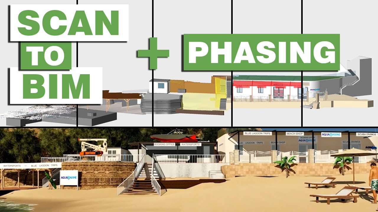 Renovation with Revit | Scan to BIM with Phasing