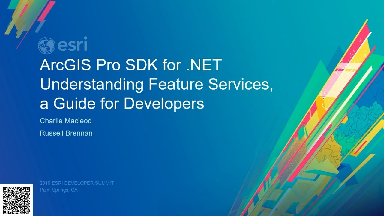 ArcGIS Pro SDK for  NET: Understanding Feature Services, a