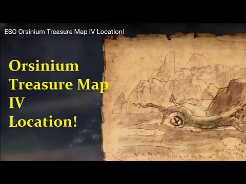 ESO Orsinium Treasure Map IV Location!
